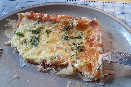 Schwedischer Lachskuchen  'Schwedenpizza' 17