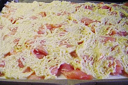 Schwedischer Lachskuchen  'Schwedenpizza' 81