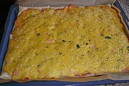 Schwedischer Lachskuchen  'Schwedenpizza' 53