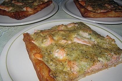 Schwedischer Lachskuchen  'Schwedenpizza' 56