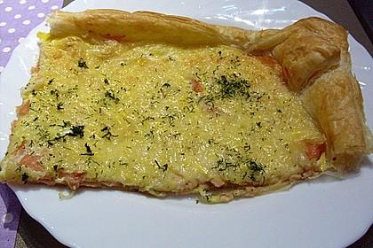 Schwedischer Lachskuchen  'Schwedenpizza' 48