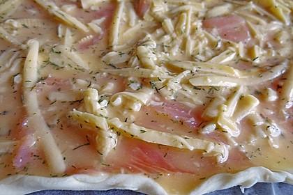 Schwedischer Lachskuchen  'Schwedenpizza' 84