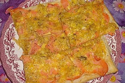 Schwedischer Lachskuchen  'Schwedenpizza' 68
