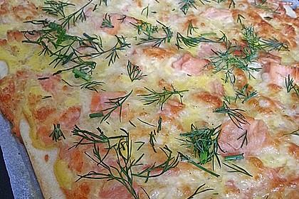 Schwedischer Lachskuchen  'Schwedenpizza' 19