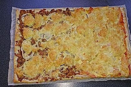 Schwedischer Lachskuchen  'Schwedenpizza' 91
