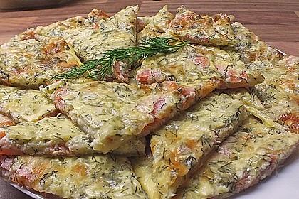 Schwedischer Lachskuchen  'Schwedenpizza' 4