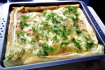 Schwedischer Lachskuchen  'Schwedenpizza' 16