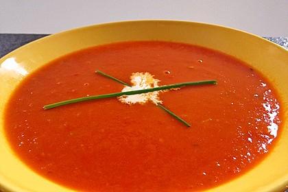 Tomaten - Ingwer - Cappuccino (mit Kartoffel - Chips) 6