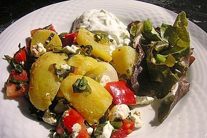 Kartoffeln mit Bärlauch - Schafskäse - Kruste 3