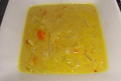 Chinakohl - Kokos - Curry - Suppe 3