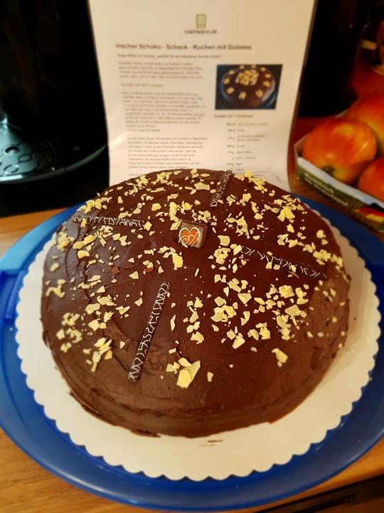 Irischer Schoko Schock Kuchen Mit Guiness Von Casado79 Chefkoch De