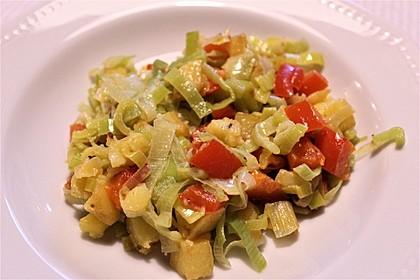 Lauch-Kartoffel-Pfanne (Bild)