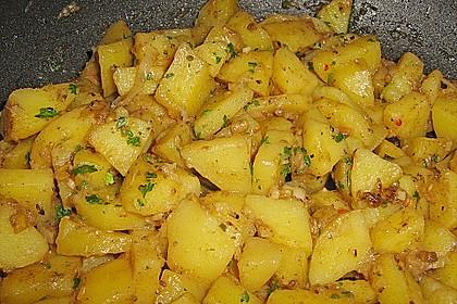 Kartoffel - Curry 2