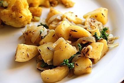 Kartoffel - Curry