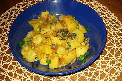 Kartoffel - Curry 1