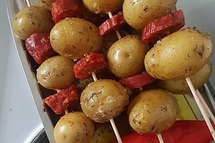 Spanische Kartoffelspieße 11