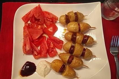 Spanische Kartoffelspieße 6