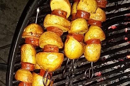 Spanische Kartoffelspieße 10