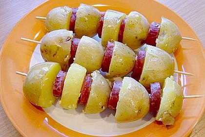 Spanische Kartoffelspieße 13