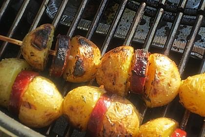 Spanische Kartoffelspieße 16