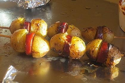 Spanische Kartoffelspieße 12