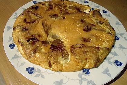 Pizza-Omelette mit Champignons 10