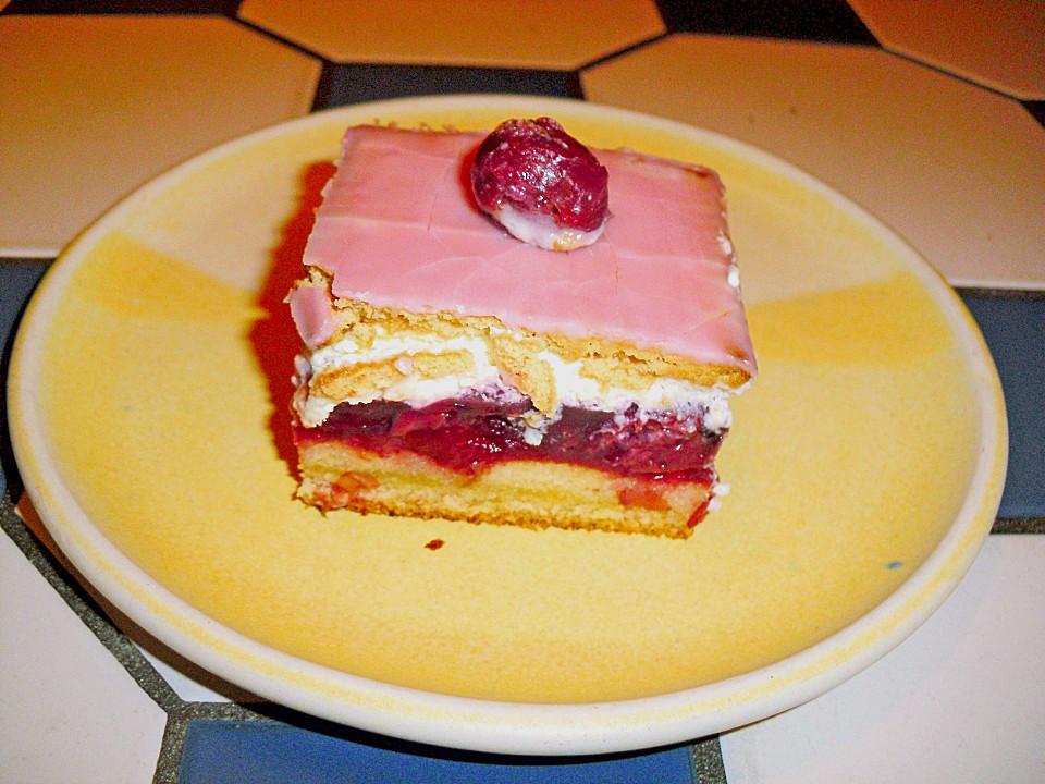 Kirsch Keks Kuchen Von Biggiblue Chefkoch De