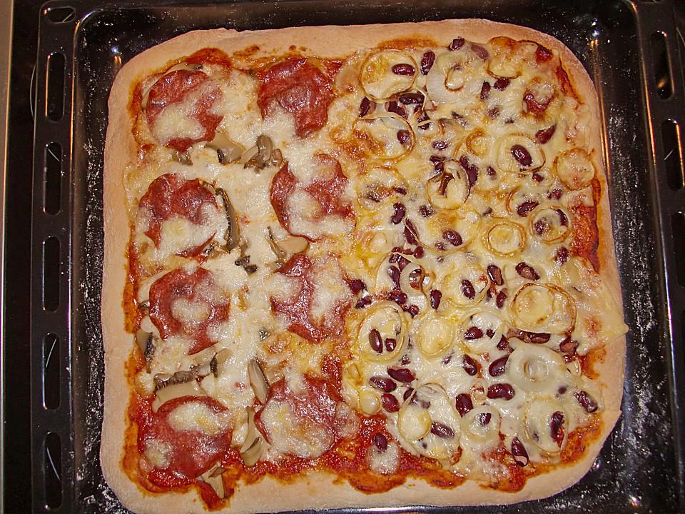 Pizzateig Ohne Hefe Von Laura Chefkochde