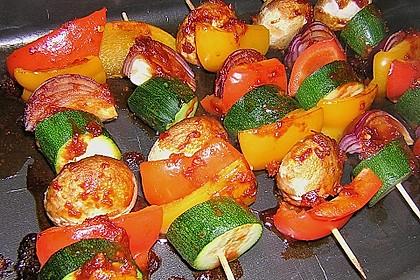 Schaschlik vegetarisch 26