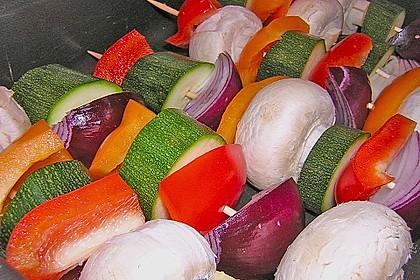 Schaschlik vegetarisch 11