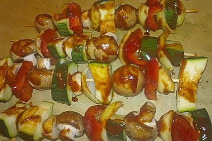 Schaschlik vegetarisch 43