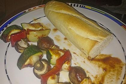 Schaschlik vegetarisch 44