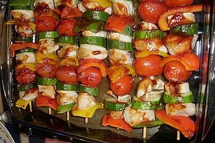 Schaschlik vegetarisch 33