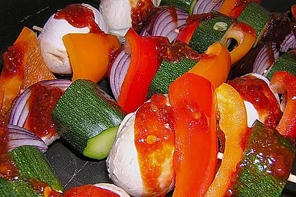 Schaschlik vegetarisch 28