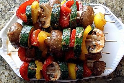Schaschlik vegetarisch 7
