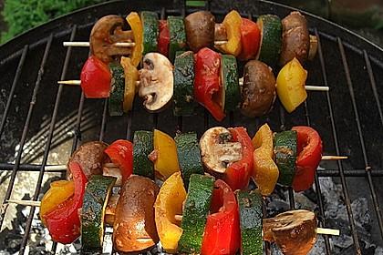 Schaschlik vegetarisch 10