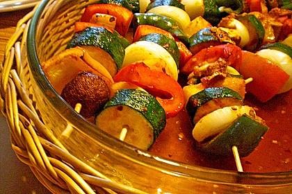 Schaschlik vegetarisch 14