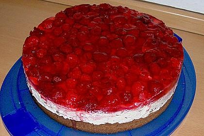 Himbeer Stracciatella Torte 1