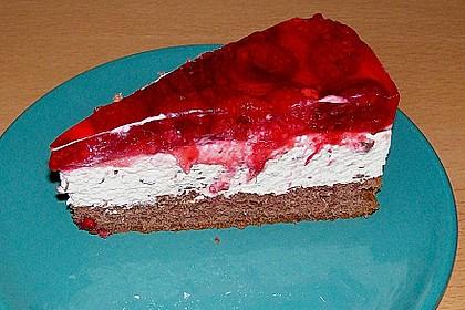 Himbeer Stracciatella Torte 4