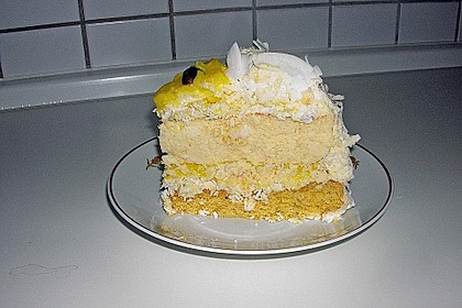 Lemon Coconut Cheesecake 6