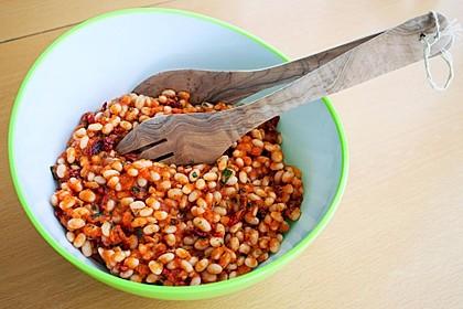 Toskanischer Bohnensalat 4