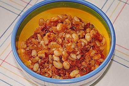 Toskanischer Bohnensalat 8