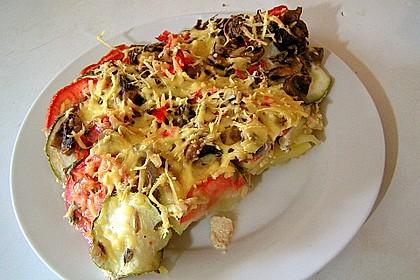 Kartoffel - Gemüseauflauf