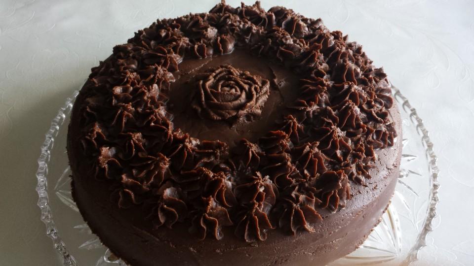 Einfache Schokoladen Buttercreme Von Hibiscusbloom Chefkoch De
