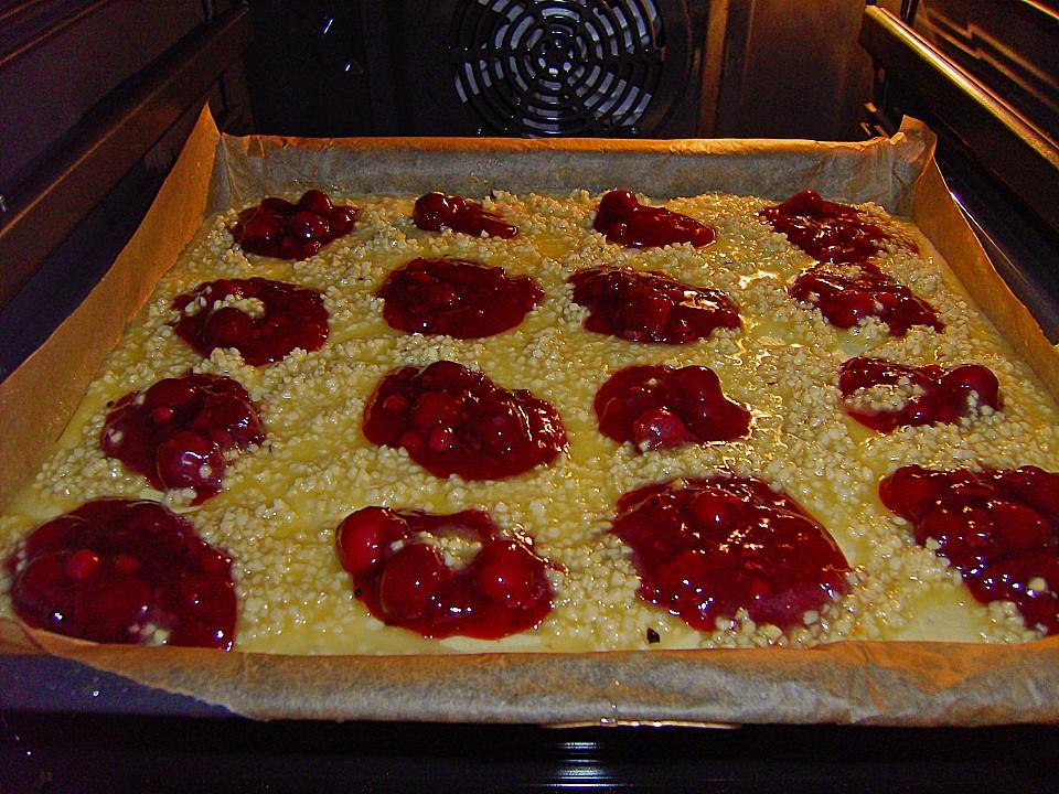 Rote Grutze Kuchen Vom Blech