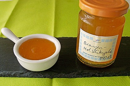 Orangen - Holunderblüten - Gelee