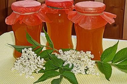 Orangen - Holunderblüten - Gelee 1