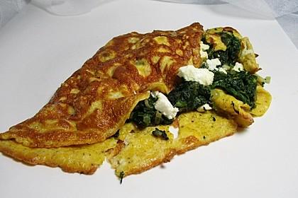 Spinat-Käse-Omelett 18