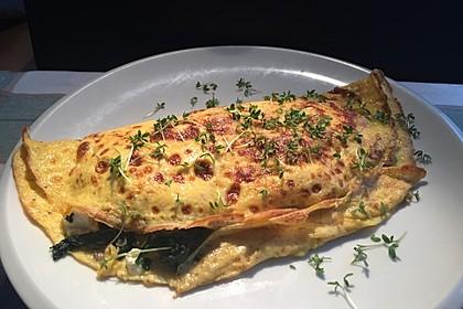 Spinat-Käse-Omelett 6