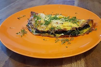 Spinat-Käse-Omelett 15